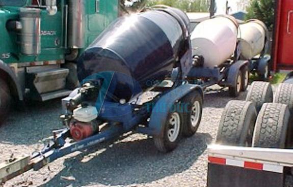 Mobile Concrete Drum Mixer Thu Duc Construction And