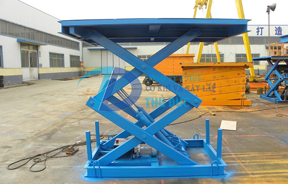 Hydraulic Scissor Lift Table Thu Duc Construction And